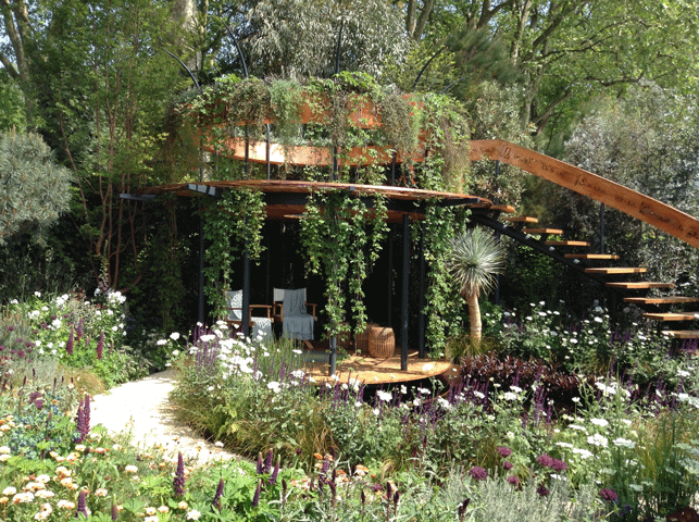 Chelsea Flower Show 2016: Beauty of Mathematics Garden by Nick Bailey