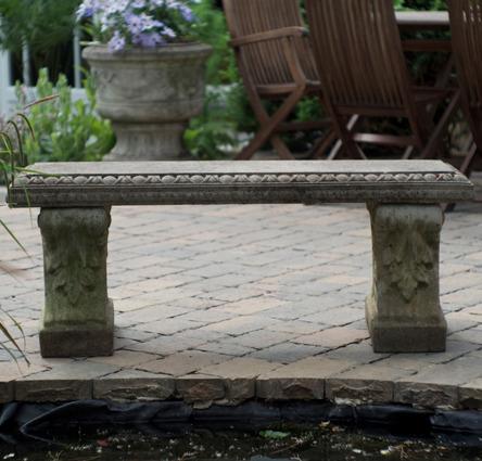 Antique stone bench