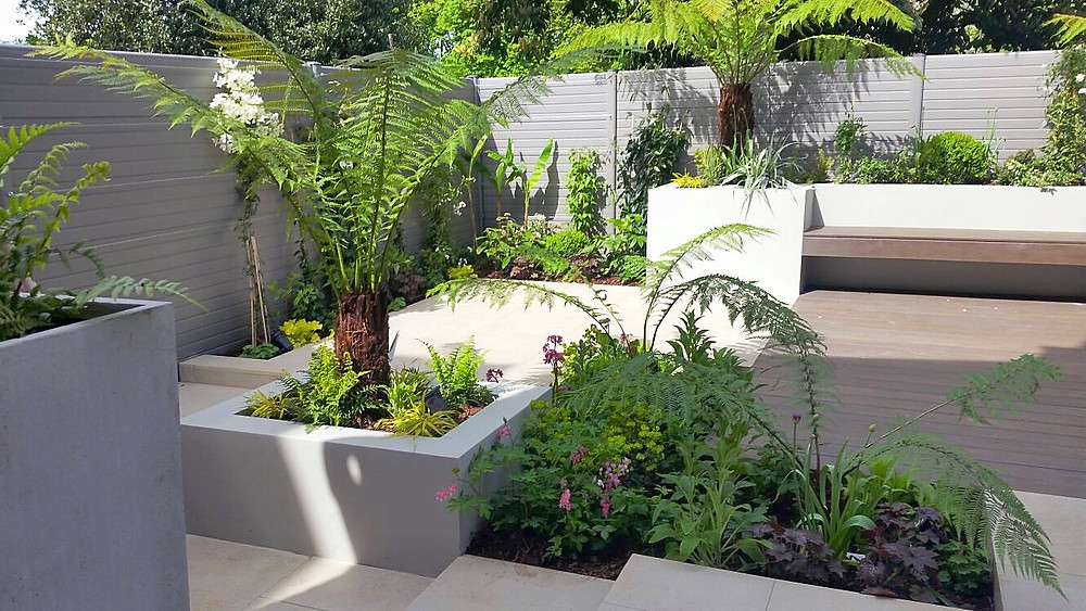 Stylish Clovelly Road Garden Transformation by the Disitnctive Gardener