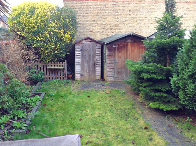 Midhurst Garden Before Transformation