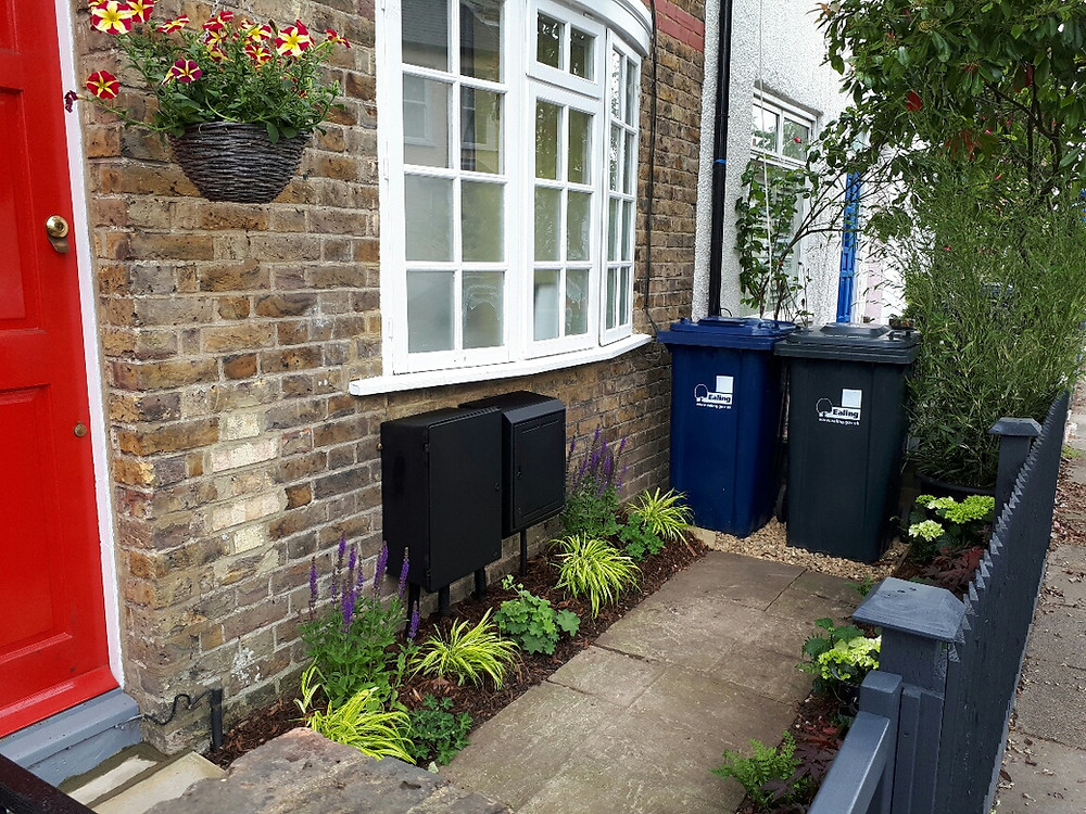 Ridley Road narrow front garden transformation