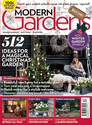 Modern Gardens magazine cover Dec 2018