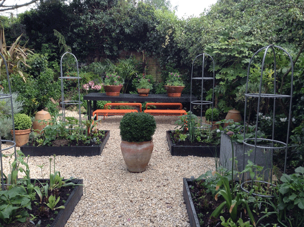 The new parterre garden design by the distinctive for Parterre vegetable garden design