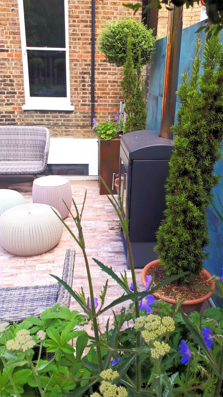 Chic London Family Garden
