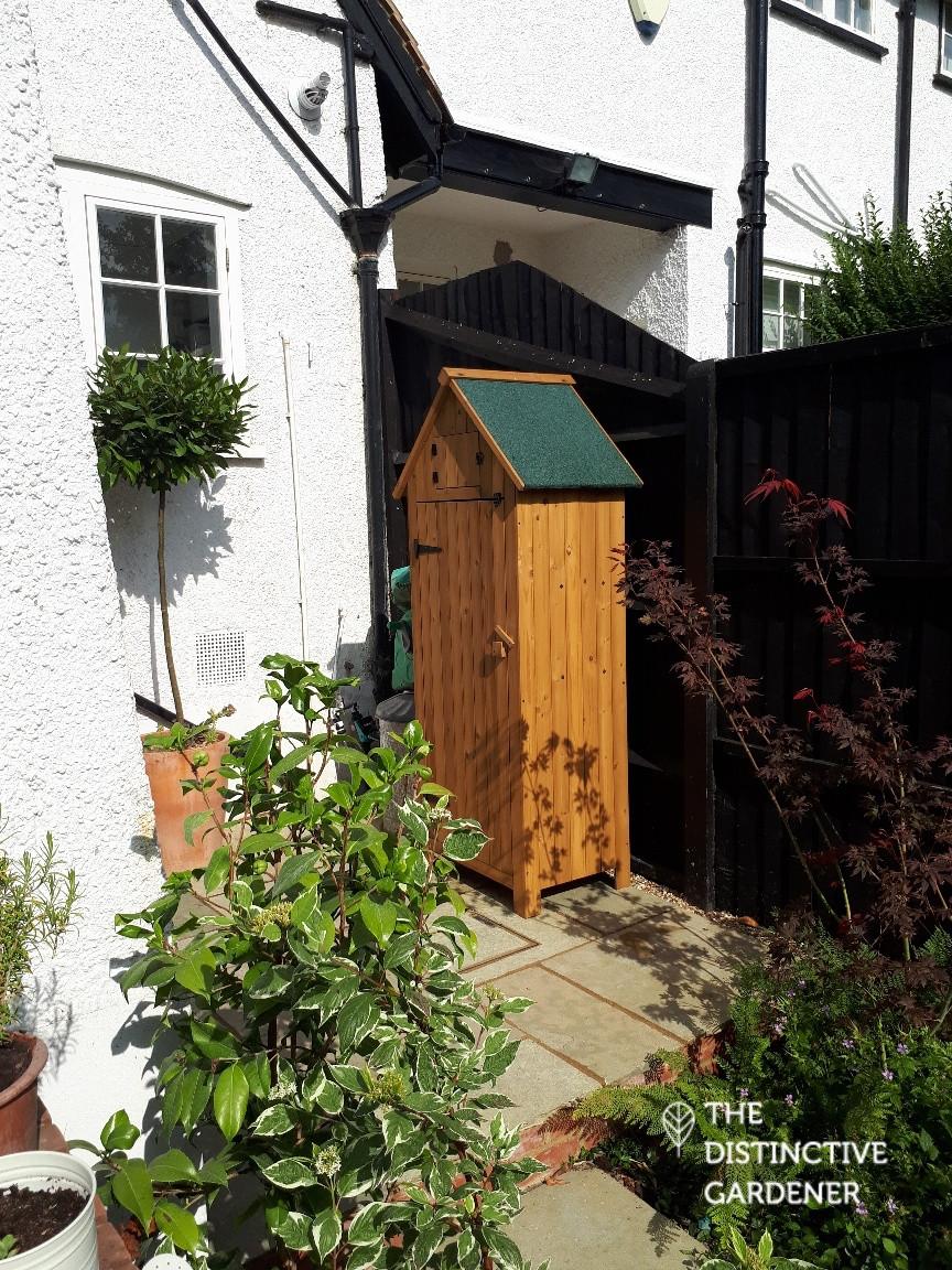 Sentry shed garden storage box