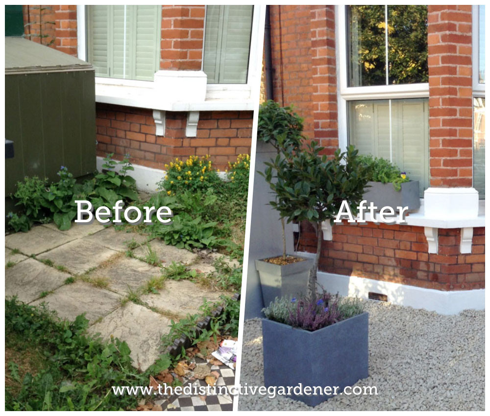 Kilda Street Garden Before and After Transformation