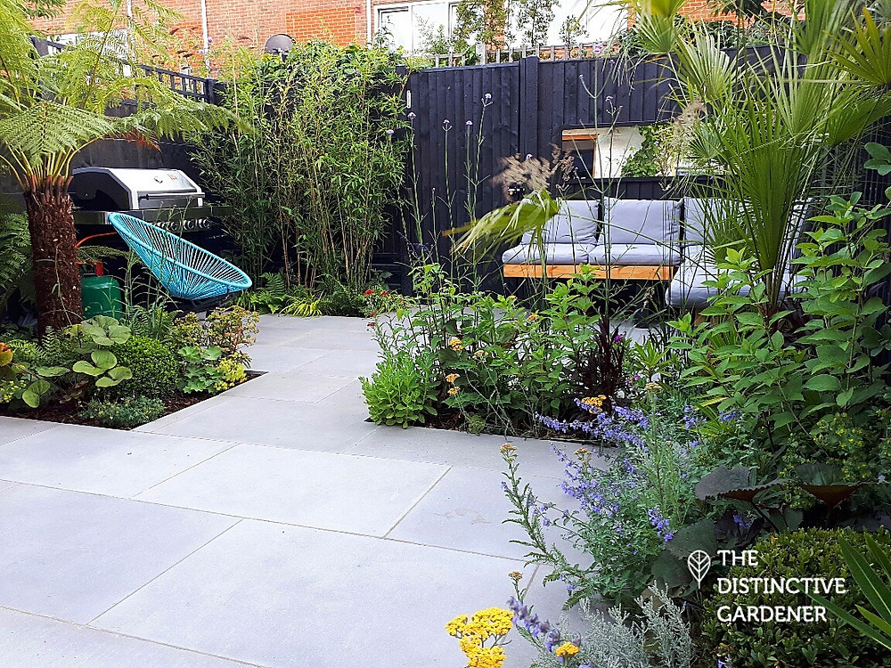Montague road finished garden view