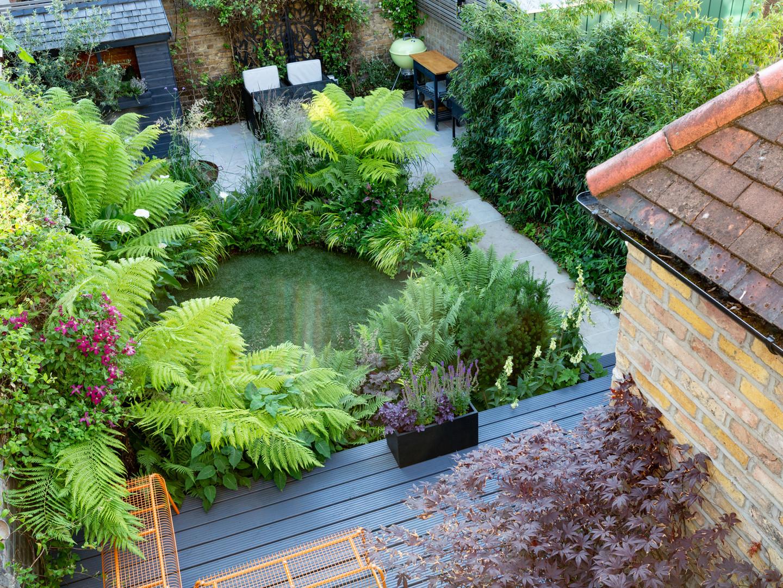 North Facing London Garden