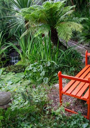 york-road-orange-bench-and-pond-jpg