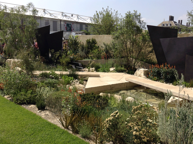 Chelsea Flower Show 2016: Andy Sturgeon's s winning Daily Telegraph Garden