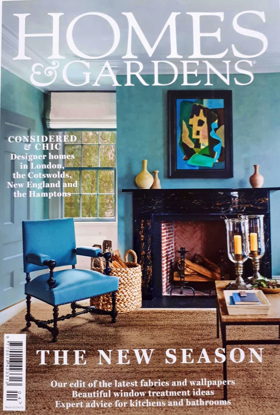 Homes & Gardens Magazine April 2019