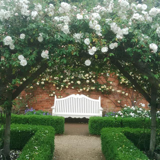 Mottisfont Rose Garden, Hampshire