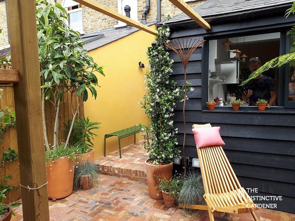 Garden side passage