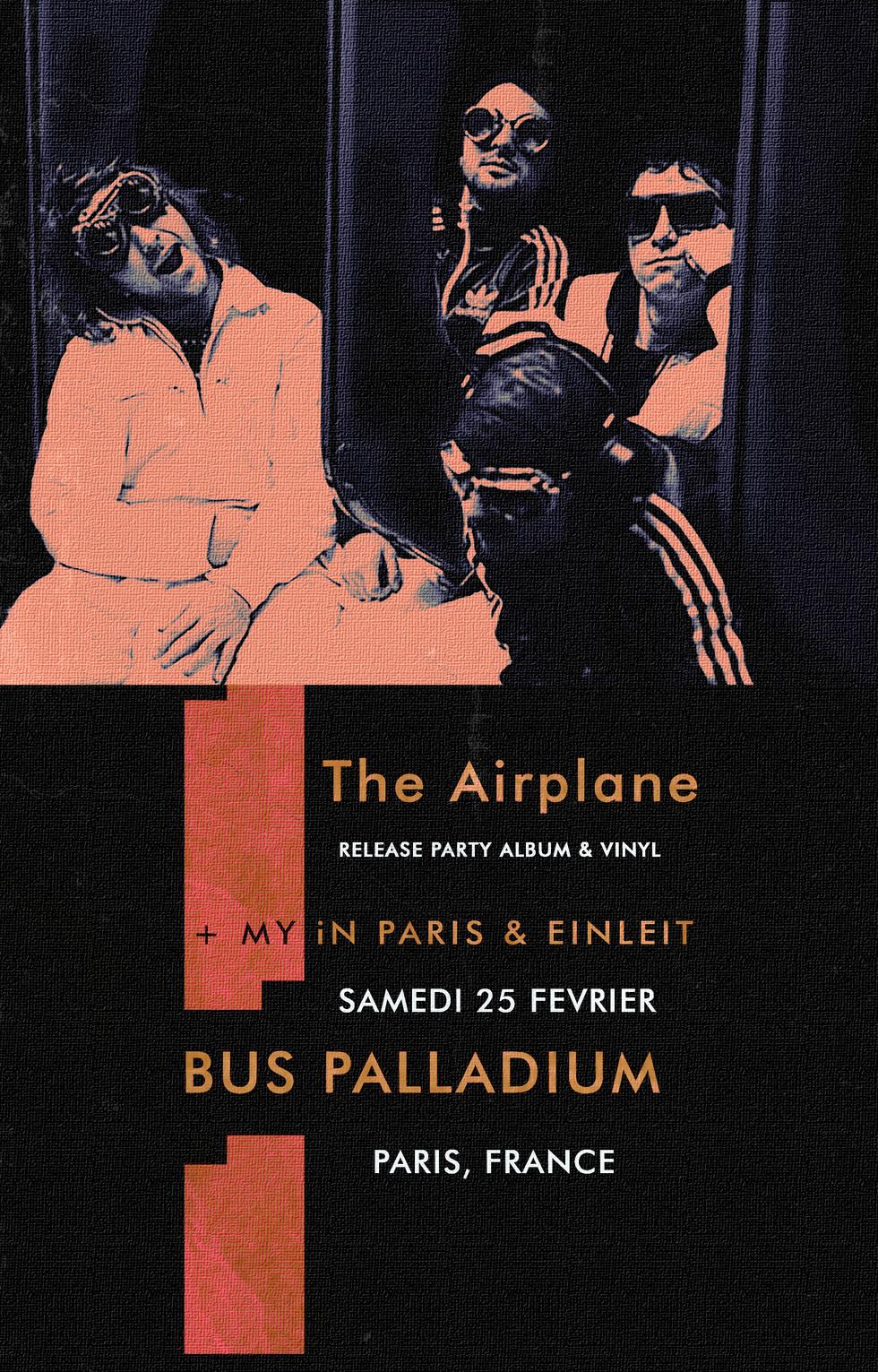 RELEASE PARTY au Bus Palladium (PARIS) - sam. 25/02