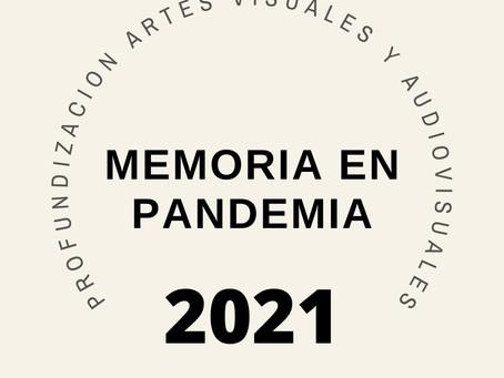 "Exposición de Artes Visuales ""Memoria en pandemia"""