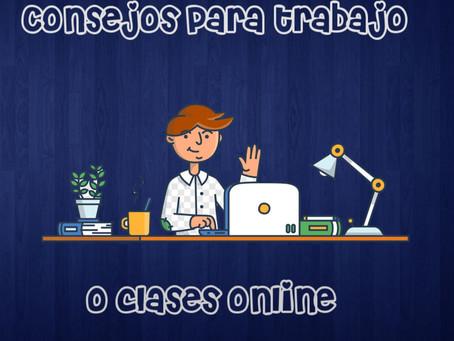 Recomendaciones para Trabajo Online