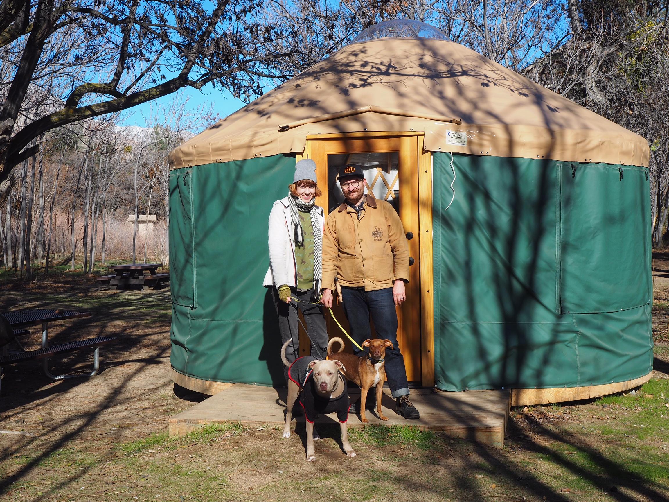 jordan and britt yurt