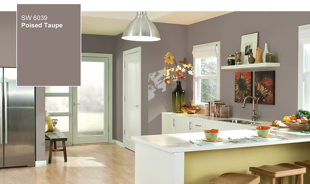 Sherwin Williams 2017 Color of the Year Poised Taupe