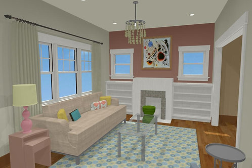 Living Room eDesign