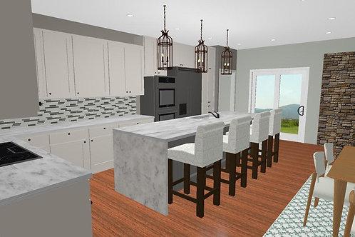 Kitchen Room eDesign
