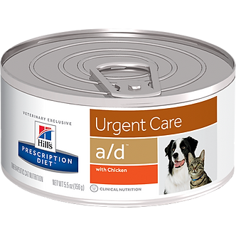 Hill's a/d Canine/Feline Urgent Care
