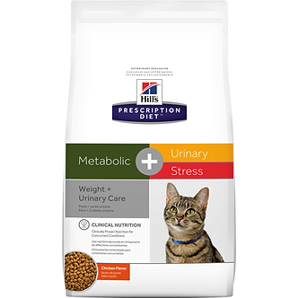 Hill's Metabolic + c/d Stress Weight & Urinary care