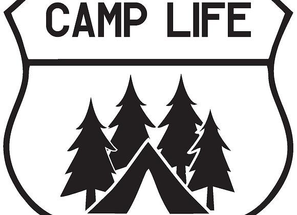 CampLife Decal