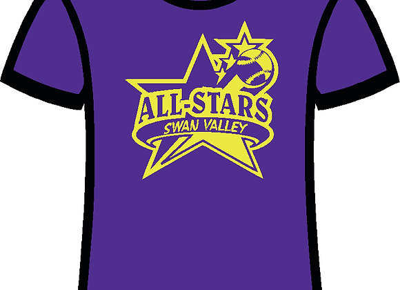 Purple ALL STAR Tee Shirt