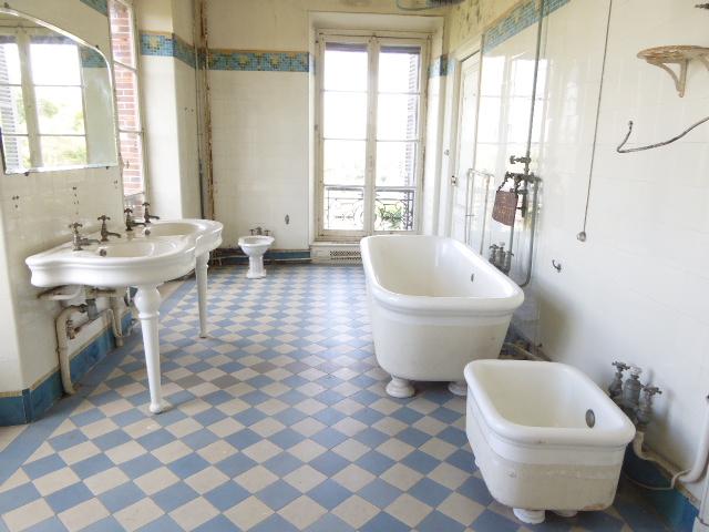 la salle de bain du Château