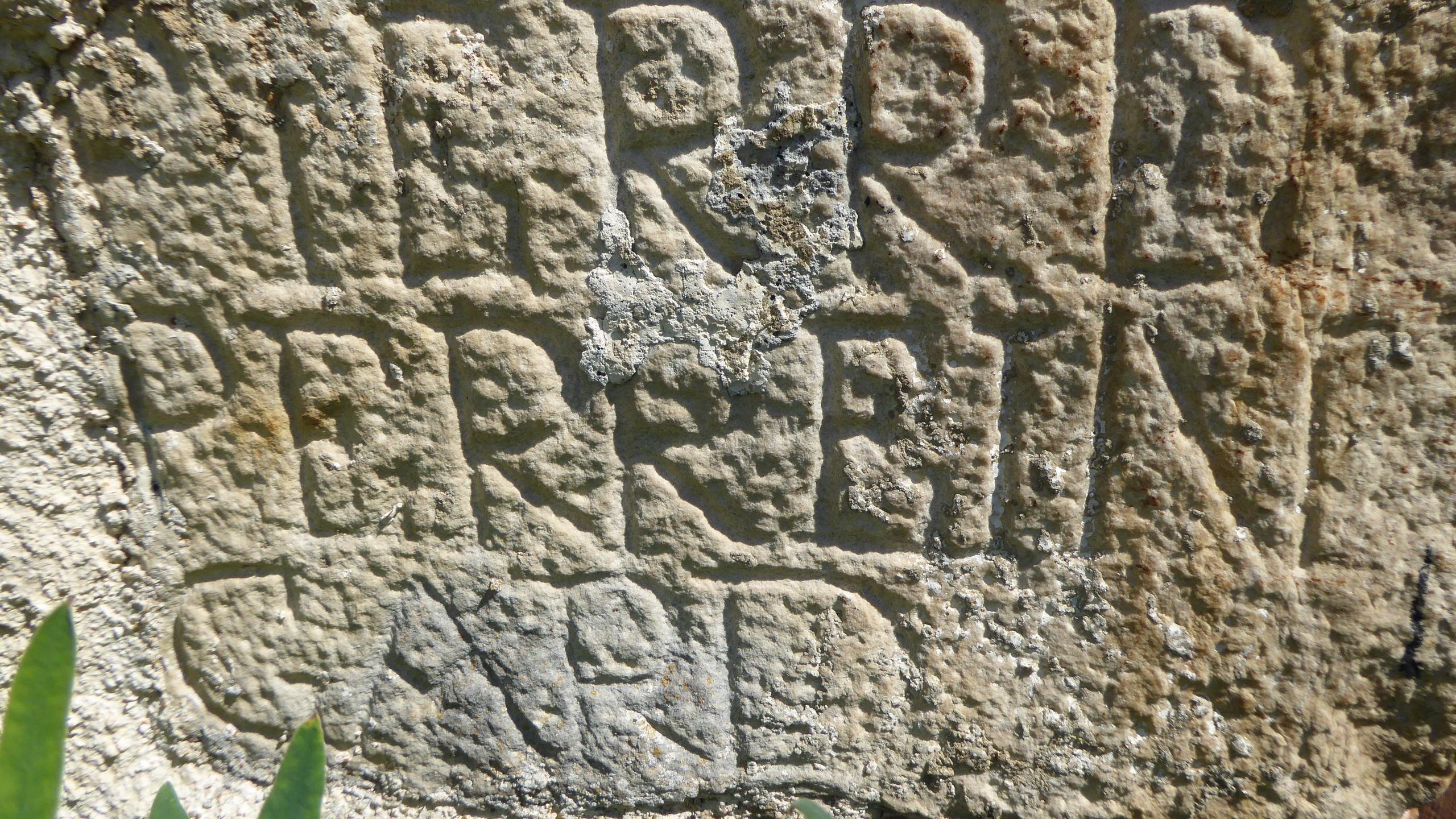 Inscriptions dans la pierre