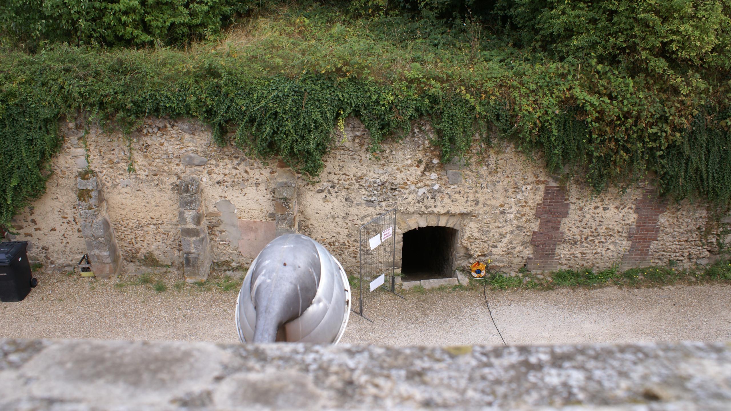 entrée des caves-prisons
