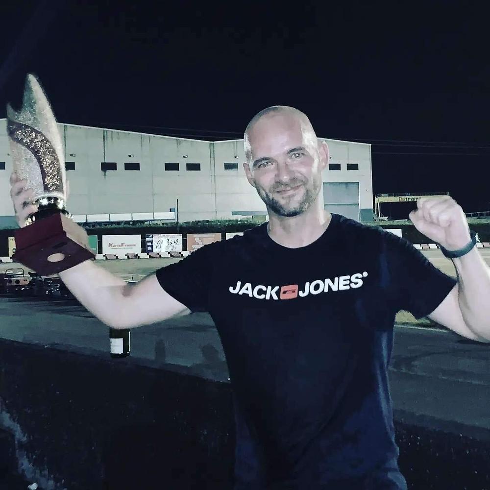 Ganador del trofeo Iron Man Karting