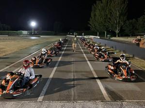 Máxima emoción en el trofeo Iron Man Karting Cabañas Raras