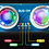 Thumbnail: 超聲波模塊感應器(帶RGB七彩燈光)