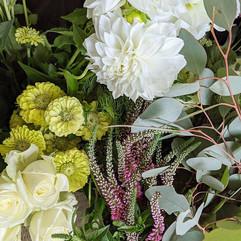 fresh market haul featuring zinnias 🌿 t