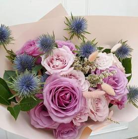 today's birthday bouquet for leonie 💕🌿