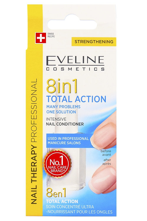 Eveline Cosmetics 8in1 Total Action Concentrated Nail Conditioner
