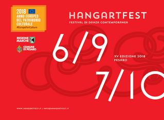 La XV edizione di Hangartfest si svolgerà dal 6 settembre al 7 ottobre 2018