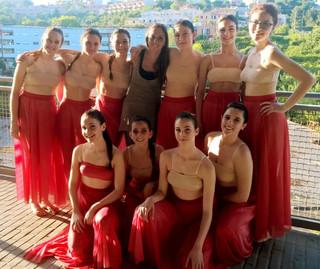 Bella esperienza al Conero Dance Festival, vinta una borsa di studio