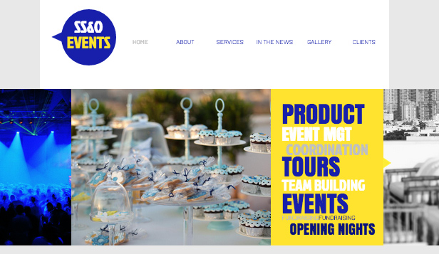 See All Templates website templates – Corporate Events