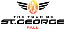 Fall Tour of St. George logo. EPIC Cycling Team targets and participates at this event. Epic organizes road and mountain bike group rides for Utah team members based in Salt Lake and Utah Counties, and virtual cycling at Zwift.