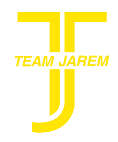 Team Jarem logo. Team Jarem and EPIC Cycling Team participates at the Huntsman 140 to raise money for cancer research.