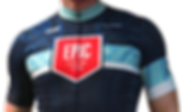 An EPIC Cycling Team member wears EPIC's 2018 cycling kit. This Biofit jersey and Elite bibs are custom-made in Italy by EPIC's partner, Utah-based DNA Cycling. EPIC Cycling Team organizes road and mountain bike group rides for Utah team members based in Salt Lake and Utah Counties, and virtual cycling at Zwift.