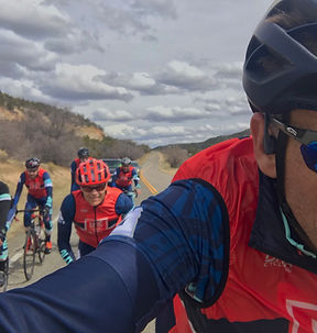 EPIC Cycling Team cyclists on a spring training group ride in Zion National Park. EPIC Cycling Team organizes road and mountain bike group rides for Utah team members based in Salt Lake and Utah Counties, and virtual cycling at Zwift.