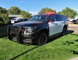Pueblo Sheriff '19 Chevy Tahoe Upfit