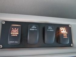 Foco Fiber Optics Van Switch Panel