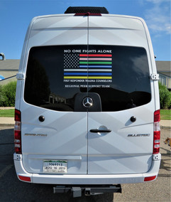 Emergency Responders Trauma Counselors Van Graphics