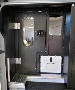 Jail Van Prisoner Transport Door