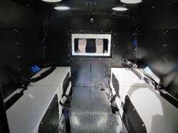 Longmont PD Jail Van Rear Seating