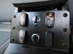 Custom Fab Switch Actuator Plate